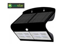 LEDSTAR solární svítidlo 6,8W černé