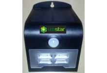 LEDSTAR solární svítidlo 2W černé