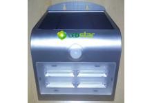 LEDSTAR solární svítidlo 3,2W stříbrné